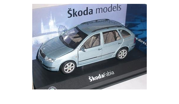 Skoda Fabia 1 I Kombi Combi Gray Stone Metallic Grau 124ab004p 1 24 Abrex Modell Auto Modell Auto Sport Freizeit