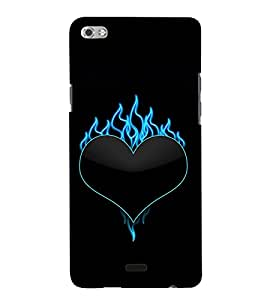 TOUCHNER (TN) Love Fire Back Case Cover for MICROMAX SLIVER5