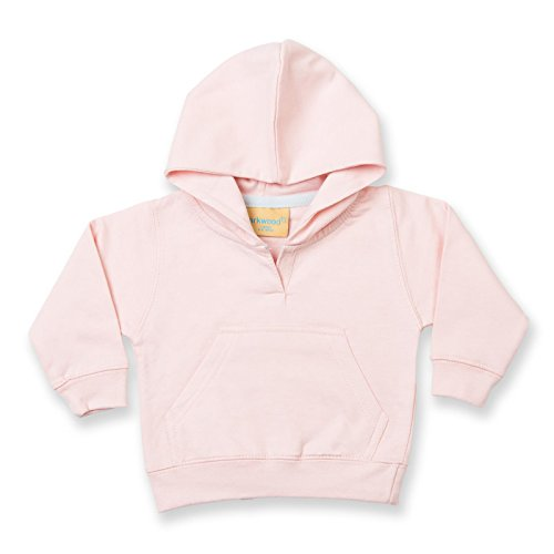 New Baby Infant Kids Larkwood felpa con cappuccio Pale Pink 6-12 Mesi