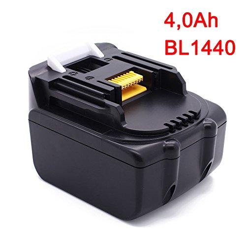 Preisvergleich Produktbild Werkzeug Akku für Makita Akku-BL1440 Lithium Ion 14,4 V 4,0Ah, 196388-5 Ersetzen Batterie BL1430 BL1415 BL1440