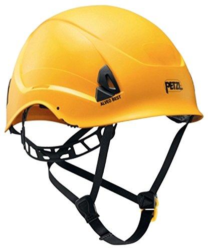 Petzl A20BYA Alveo Best casco leggero per il lavoro in altezza e salvataggio, giallo