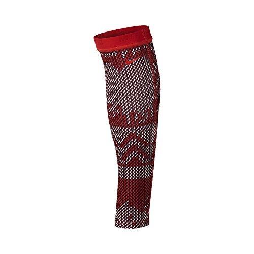 Maillot de ski Nike Pro Hyperwarm manches de veau-Action Red-XS / S