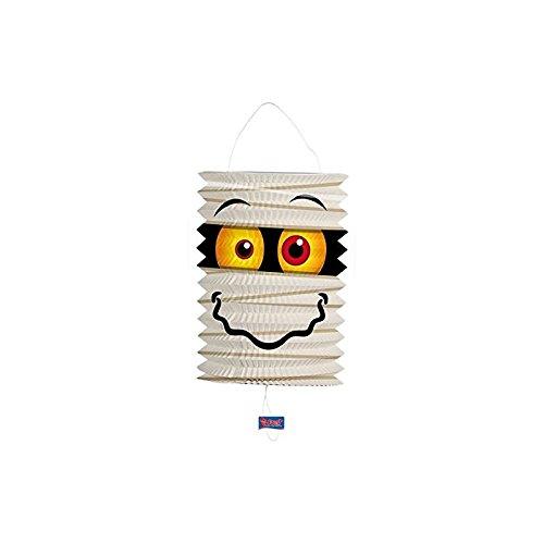 �r Halloween oder Horror-Party // mit 16cm Duchmesser // Deko Party Fete Set Mottoparty Motto Lampion Lantern (Mumien Halloween)