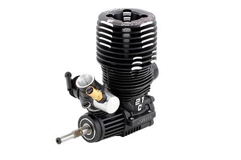 XciteRC 72102000 RC Auto Motor, Nitro Tiger ohne Seilzugstarter, 21 3.5 ccm, schwarz