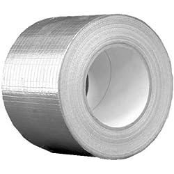 Aluminio cinta adhesiva netzverstärkt 10cm x 50m de ventilación y de aire acondicionado