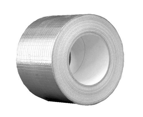 Aluminium Klebeband netzverstärkt 10 cm x 50m von Lüftungs- und Klimaanlagen