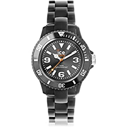 Ice-Watch Ice-Solid Dark Grey Anthracite Unisex plastic bracelet watch SD.AT.U.P