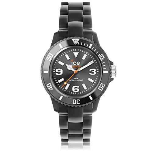 Ice-Watch - ICE solid Anthracite - Graue Herrenuhr mit Plastikarmband - 000631 (Medium)