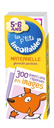 Les p'tits incollables Eventail Maternelle grande section 5-6 ans par Play Bac