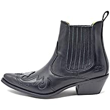 Botin Campero Hombre napa Negro Johnny Bulls - Arizona