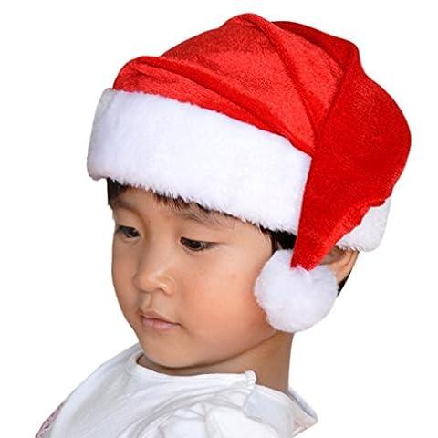 Smile YKK 4pcs Chapeau Noël Pour Enfant Décoration les Partie Fête les Jeu