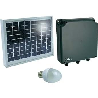 Kit solaire 4 W / 12 V DC Extel Sunlight 4