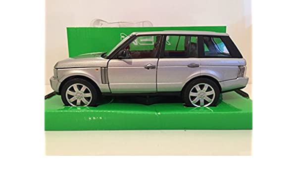 1//24 WELLY LAND ROVER RANGE ROVER 2003 ARGENT