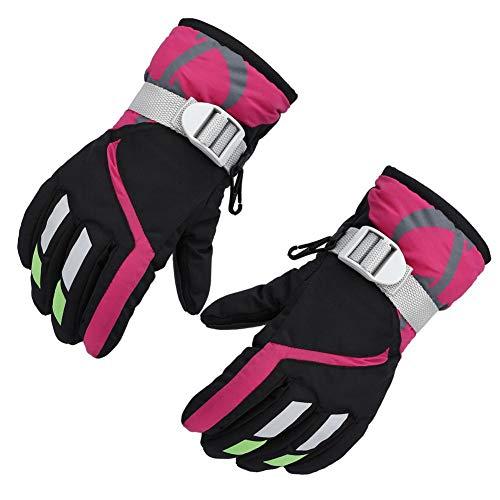 Todaytop Warm Fäustlinge Handschuhe Winterhandschuhe Kinderhandschuhe Anti-Rutsch Skihandschuhe Skatinghandschuhe Baby Kinder Jungen Mädchen