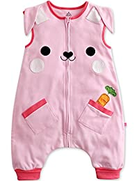 [envío gratuito] Vaenait baby 1–7años 100% algodón de reposo y Play infantil (Sleepsack Animal