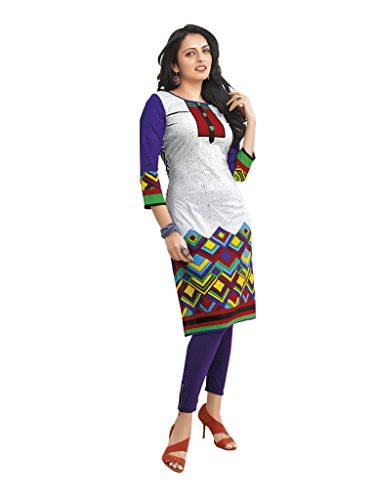 Unstitched Cotton Printed Kurti Fabric | Free Delivery |Latest