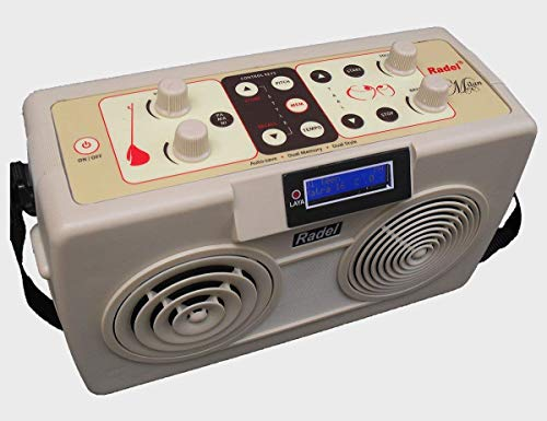 The Radel Milan is the first of its kind unique 2-in-1 Digital Tabla-Tanpura