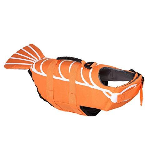 Unbekannt Pro Pet Life Jacken und Schwimmen Schwimmer für die Sicherheit Weste lifejacket Lifesaver für kleine mittlere große Hunde und Katzen mit Kostüm Bademode (Hai Katze Kostüm)