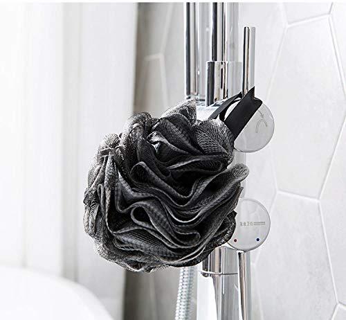Natürliche Bad-pinsel (Home+ bath ball Bast Pinsel körper Schwamm Pinsel Bad mit natürlichen Borsten Peeling dusche Zimmer Bade Schaum die körper topfreiniger für luffa@Random_Color_2pcs)