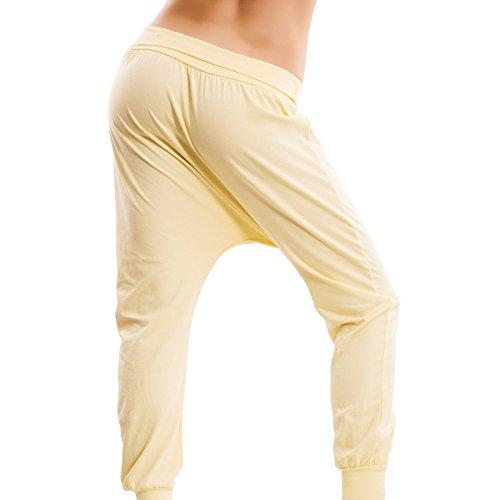 Toocool - Pantalon de sport - Femme Jaune