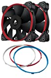 Corsair SP120 Performance Edition Ventilateur de Boitier, 120mm (Dual Pack)