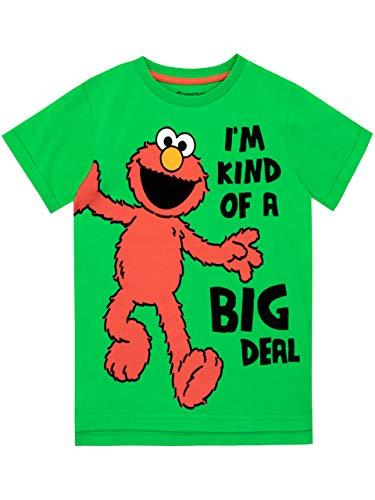 Sesame Street Jungen Elmo T-Shirt Grün 116