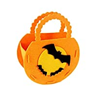 KFYOUXIN Halloween Non-woven Bags Trick or Treat Gift Bags Cartoon Pumpkin Bags Children