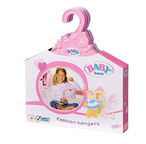 Preisvergleich Produktbild Zapf 804568 - Baby born  Kleiderbügel (5 Stück)