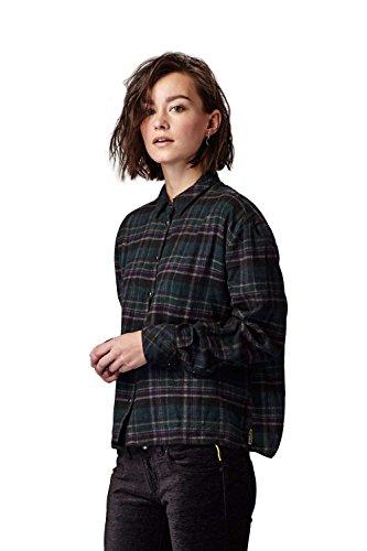 Meltin'Pot - Camicia CLEOP T1003-OG000 modello western fantasia a quadri per donna - taglia small
