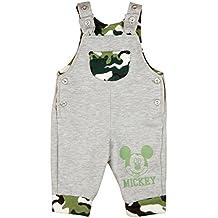 BABY-HOSE Mickey Mouse mit Camouflage und Motiv SPIEL-HOSE Jungen JEANS-HOSE