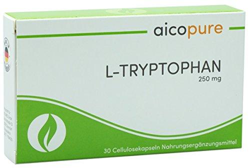 L-TRYPTOPHAN 250 mg Kapseln • hochdosiert • reine Qualität • Made in Germany