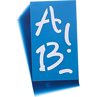 ACME Alphabet Stencils-Angelina Script 4-inch