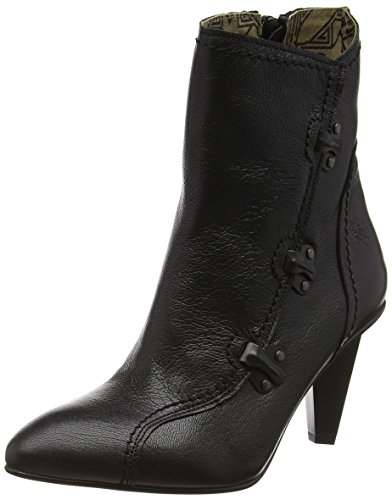 Fly London P143751 - Scarpe con Tacco Donna Nero (Black 001)