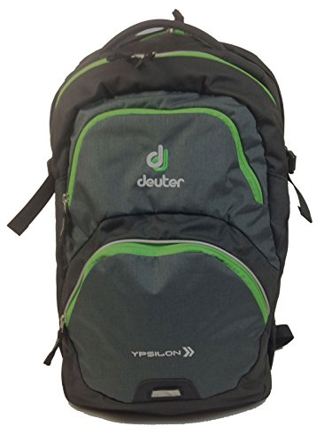 Deuter Kinder Rucksack Ypsilon, Black-Spring, One Size, 80223-7201