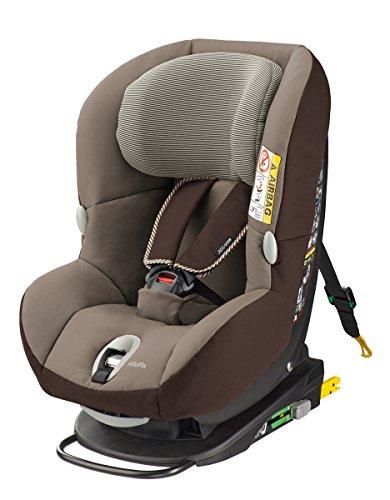 Maxi-Cosi MiloFix - Reboarder Kindersitz, Gruppe 0+ /1 (0-18 kg), Kinderautositz mit Isofix, earth brown