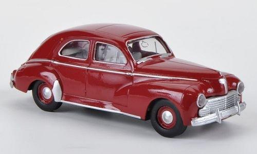 Peugeot 203, dkl.rot von Drummer, Modellauto, Fertigmodell, Brekina Drummer 1:87