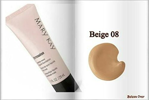 Beige 8 Mary Kay TimeWise Matte Wear Foundation - Imprimación