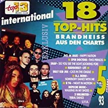 Top-Hits Mai 1993 (CD Compilation, 18 Titel)