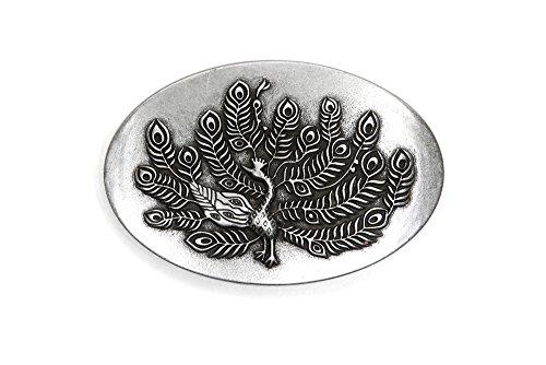 ße Wechselschließe Gürtelschnalle Buckle Modell 'Peacock' ()