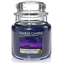 yankee candle 1344784E Kilimanjaro Stars Candele in giara media, Vetro, Porpora, 10x9.8x10.9 cm