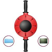 OMZBM AB Wheel Roller 360 Degree All-Dimensional con Colchoneta De Ejercicios para Fortalecer Abdominales Y Tonificar Ejercicios Básicos