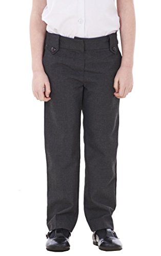 BHS Girls 2 Pack School Trousers