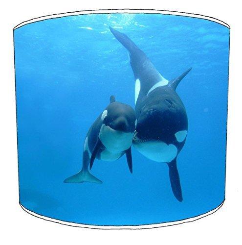 20,5cm Decke Killer Whale orca Print Lampenschirme 9 -