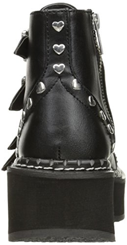 Demonia Blk 315 EMILY Vegan Leather grgS8F