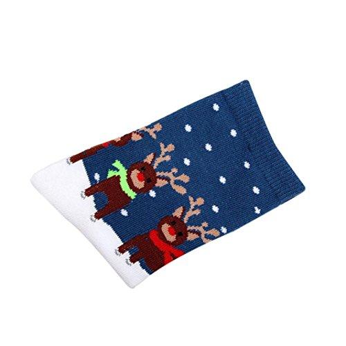 Winter Socken Damen, DoraMe Frauen Weihnachtsgeschenk Warme Baumwollsocke (J)