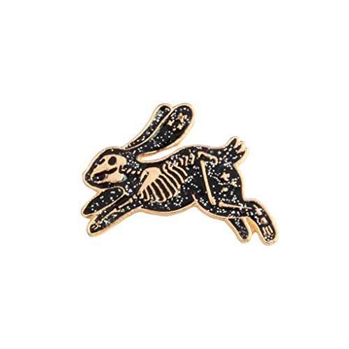Kaninchen geprägt Männer Frauen Kleidung Brosche Mädchen zogene Legierung Tier Breastpin Kleidung Pin Schmuck Geschenke