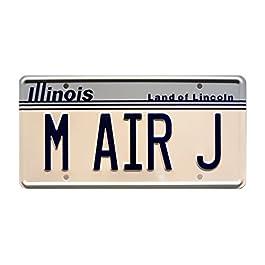 Air Jordan | M AIR J | Metal Stamped License Plate