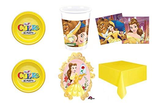 Chute de Disney Beauty and the beast Belle Princesse en polycoton tissu personnage