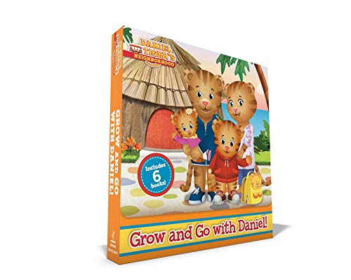 Grow and Go with Daniel!: No Red Sweater for Daniel; Tiger Family Trip; Daniel Goes to the Carnival; Daniel Chooses to Be Kind; Daniel's First ... Has an Allergy (Daniel Tiger's Neighborhood) Familie Familie Kinder Sweatshirt