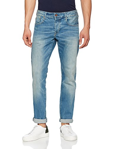 Scotch & Soda Herren Slim (Schmales Bein) Nos Ralston-Scrape and Shift, Blau (Apple 80), W32/L32 (Jeans Apple)